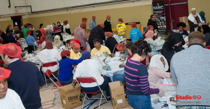 "Meal Packaging Program with ""Rise against Hunger"""